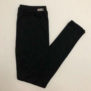 Black Thermal Base Layer Leggings Long Underwear